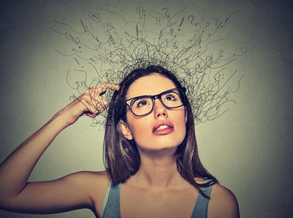 片付け頭が混乱ADHD